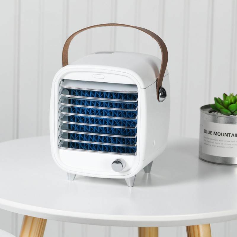 Creative  Mini- Air Conditioner Fan Personal Space Air Cooler The Quick Easy Way To Cool Air Conditioning Fan Blower For Home
