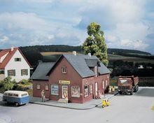 Ho 1:87 Schaal Model Miniatuur Europese Winkel Voor Spoorweg Winkelen Trein Signaal Landschap Layout