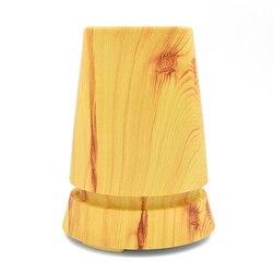 350ml drewniana lampa stołowa zapachowy olejek eteryczny dyfuzor ultradźwiękowy nawilżacz powietrza dyfuzor Aroma dyfuzor 100 v-240 v Home-Wood