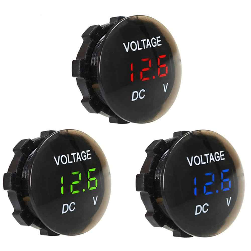 Monitoring Easy For You To Know The Status Of The Battery Car Battery Voltmeter Dc Led Digital Display Short Smooth Voltmeter