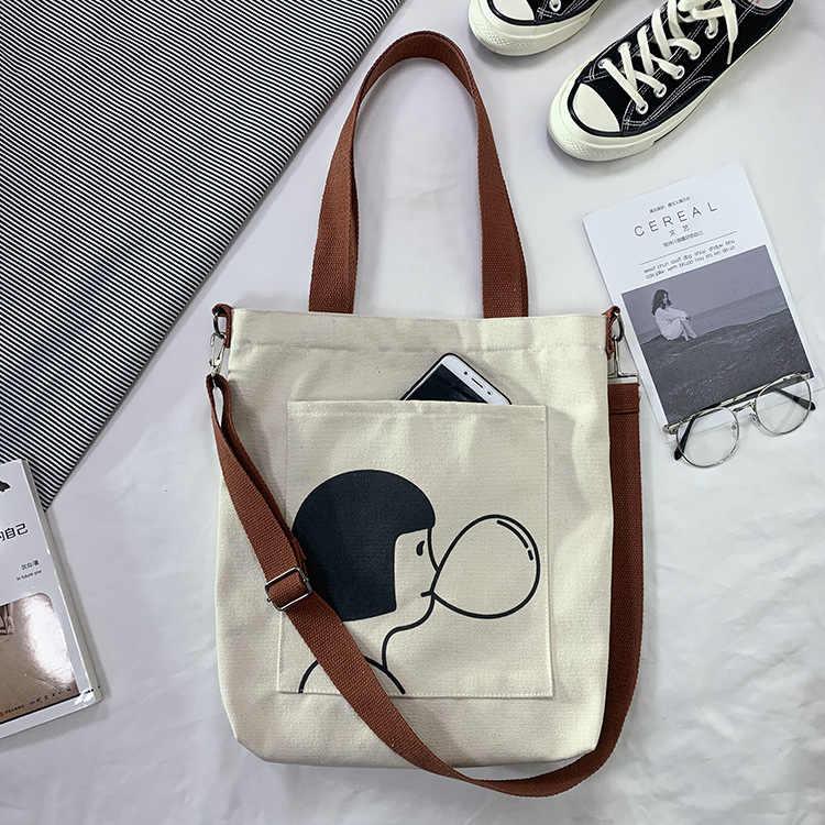 Details about  /Women Canvas Multi Pocket Messenger Crossbody Handbag Lady Shoulder Travel Bag A