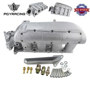 Image 1 - PQY новый впускной коллектор для Mazda 3 MZR для Ford Focus, двигатель Duratec 2,0/2,3 двигатель литой алюминиевый впускной коллектор PQY IM49SL