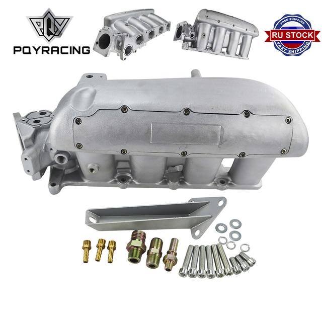 PQY новый впускной коллектор для Mazda 3 MZR для Ford Focus, двигатель Duratec 2,0/2,3 двигатель литой алюминиевый впускной коллектор PQY IM49SL