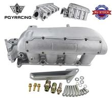 PQY nuevo colector de admisión para Mazda 3 MZR para Ford Focus Duratec 2,0/2,3 Motor de aluminio fundido colector de admisión PQY IM49SL