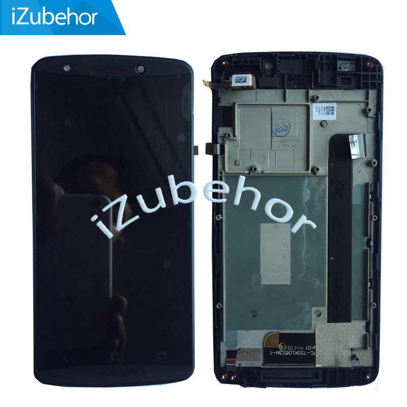 100% Warranty Black LCD Display Screen With Touch Screen Digitizer Sensor + Frame Assembly For Acer E700 E39 By Free Shipping