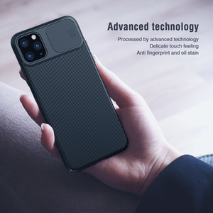 Image 4 - Nillkin para iphone 11 pro max caso slide capa para câmera de proteção para iphone 11 caso 2019 capa traseira para iphone 11 pro caso