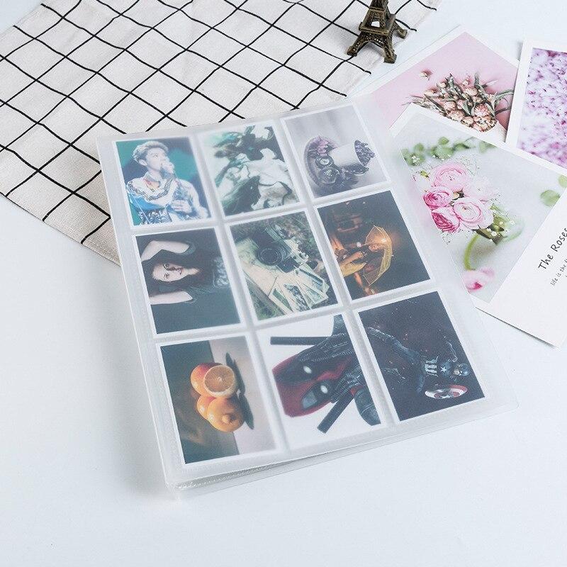 Фотоальбом с прозрачной обложкой, 288, 396 карманов, для 3-дюймовой мгновенной фотосъемки Polaroid Fuji, Instax, мини-пленочная карта, скоростной цифербл...