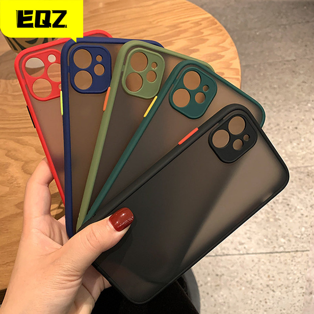 Camera Protector For Apple iPhone 11 case For iphone 12 mini Pro max case 7 8 6 6S Plus XR X XS MAX SE 2020 Case Cover Bumper 1