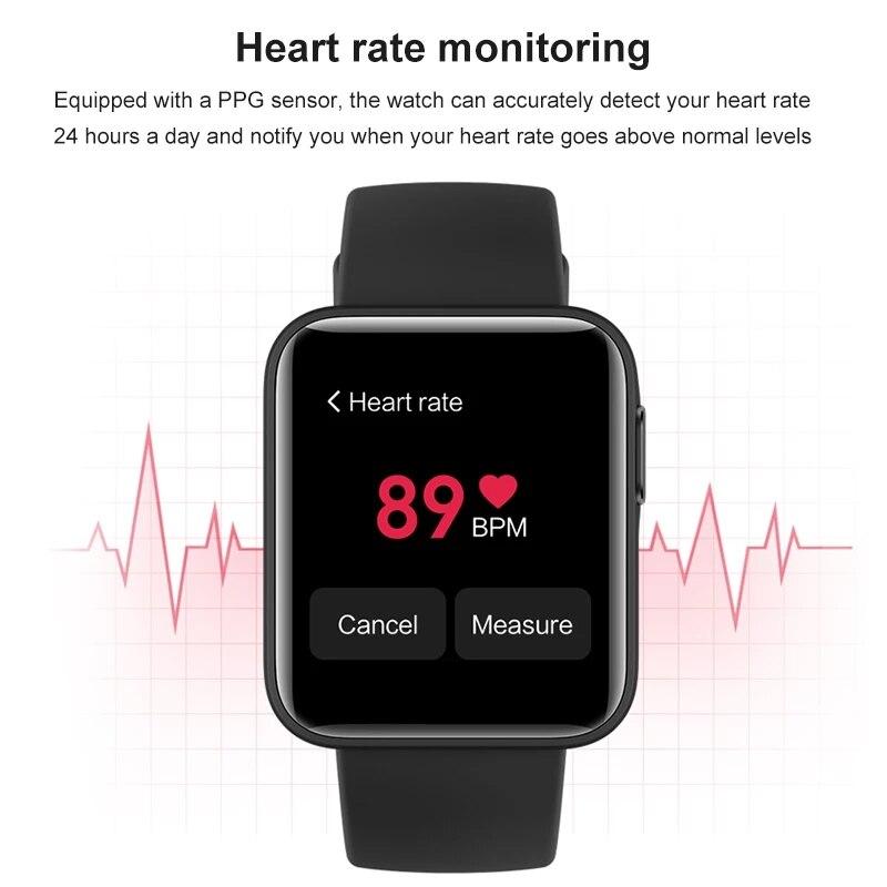 Xiaomi Mi часы Lite смарт-браслет GPS фитнес-трекер фитнес-браслет сердечного ритма 1,4 дюймов будильник Redmi Смарт-часы глобальная версия-3