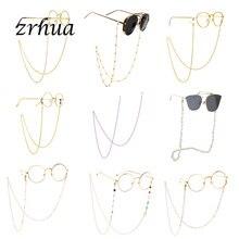 Rope Sunglasses Cord-Holder Chain Eyewears Neck-Strap Silver Reading Fashion Women Chic