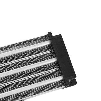1500W ACDC 220V Incubadora PTC Cerámica Calentador De Aire Temperatura Constante Elemento De Calentamiento 230*76mm