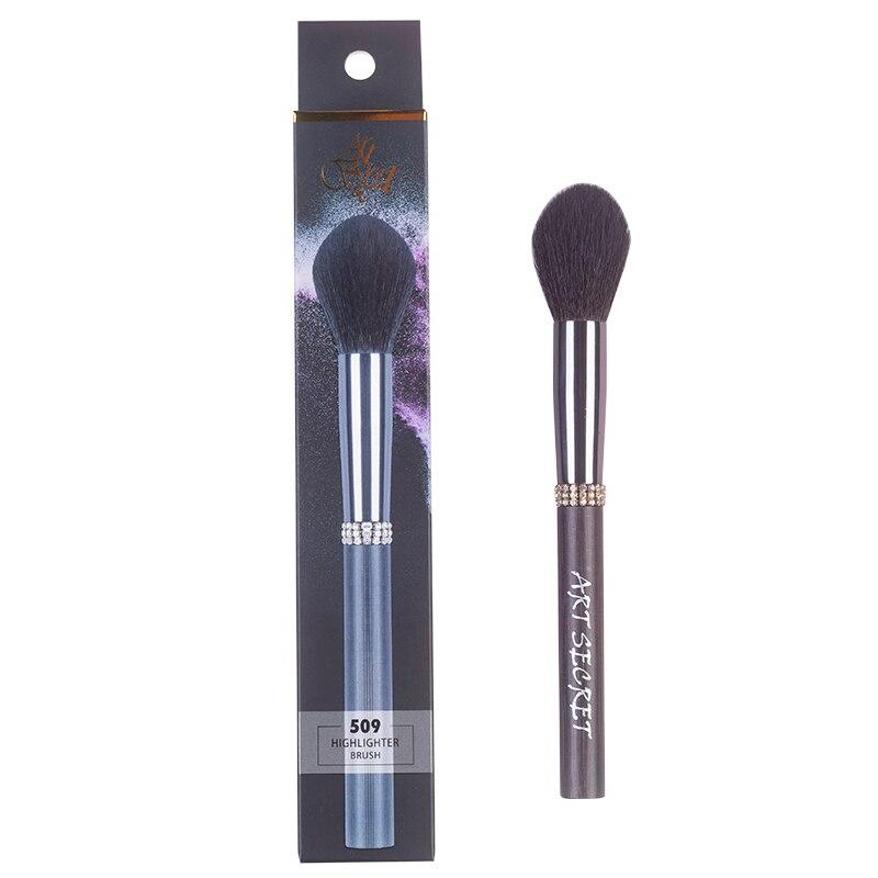 cabra arma de cabelo virola alumínio punho bambu