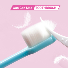 1pc Soft Micro-Nano Toothbrush Slim Small Head Toothbrush with 20000 Bristles for Fragile Gums Adult Kid Home Travel Outdoor Use