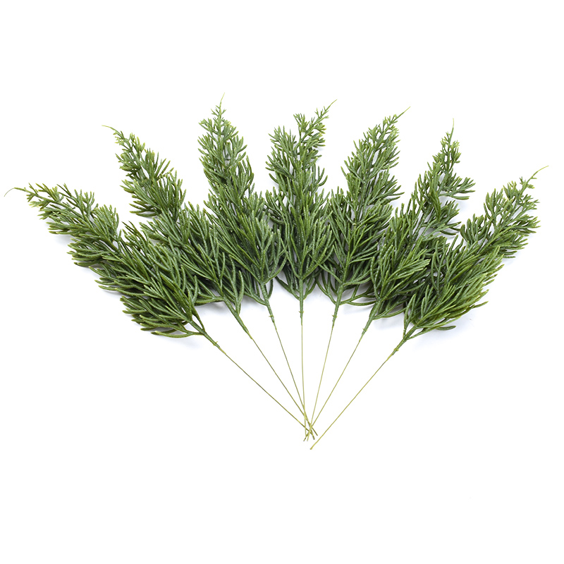 2pcs Plastic grass home decoration accessories wedding decorative flowers wreath christmas Crafts scrapbooking artificial plants