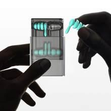 2 Paren/pak Anti-geluid Ear Plug Geluidsisolatie Gehoorbescherming Oordopjes Slapen Stekkers Waterdichte Siliconen Zwemmen Oordopjes Zacht