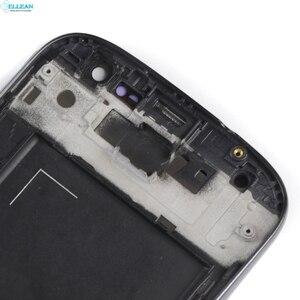 Image 2 - Catteny 4.7 inç Samsung Galaxy S3 Lcd I9305 I9301 ekran dokunmatik ekranlı sayısallaştırıcı grup I9300 Lcd ekran orta çerçeve