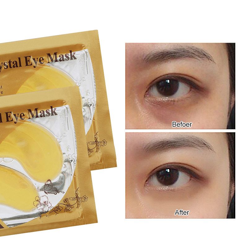 Collagen Crystal Eye Mask Face Facial Mask Gel Eye Patches for Eye Bags Wrinkle Dark Circles Eye Pads Face Skin Care TSLM1(China)