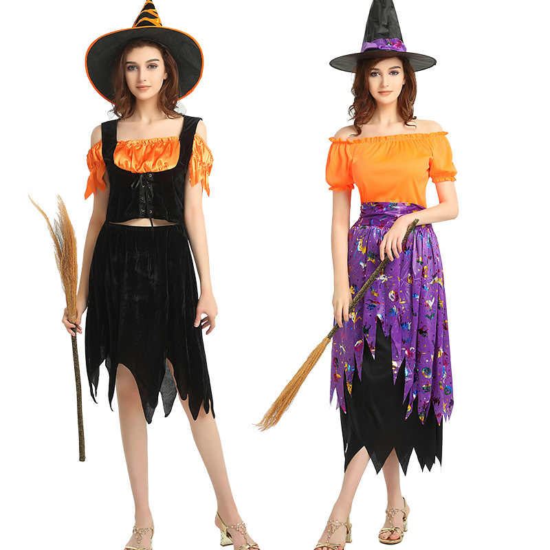 Vampire Ghost Bride Devil Devil Witch Voodoo Cosplay Dress Halloween Costumes For Women Nightmare Before Christmas Party Costume Aliexpress