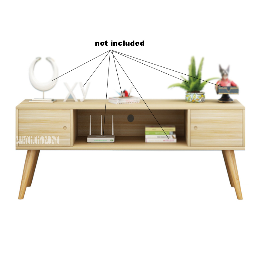001 Bedroom Low TV Cabinet Simple Modern Style TV Bench Multifunctional TV Stand Floor Cabinet Living Room Coffee Tea Table