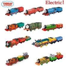 الأصلي توماس والأصدقاء قطار كهربائي 1:43 ديكاست سيارات لعب للأولاد Carro Voiture نموذج سيارة اللعب الساخن الفتيان اللعب عيد ميلاد