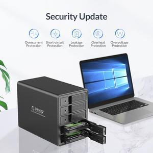 Image 3 - ORICO 95 Series 5 Bay 3.5 USB3.0 HDD Docking Station Support RAID Mode Aluminum With 150W Internal Power Adaper 80TB(5 x 16TB)