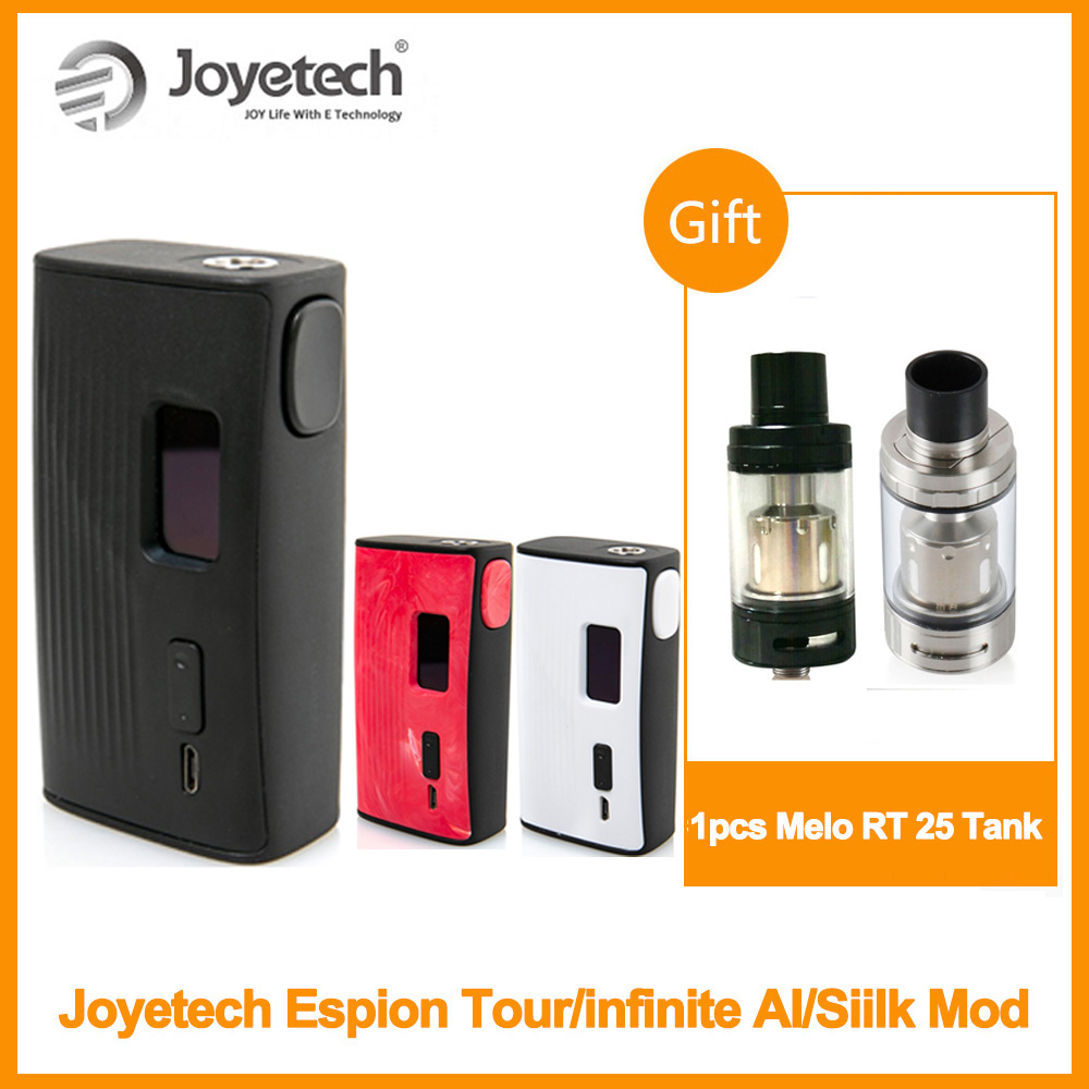 RU Original Joyetech ESPION infini AI boîte Mod sortie 200W eSpion Tour Mod/eSpion soie Mod E-Cigarette