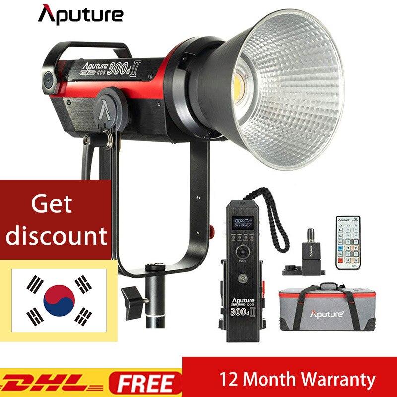 Aputure LS 300d Ii Mark II Photography LED Light With V-Mount Photography Lighting Studio Photography Lighting Aputure 300d Ii