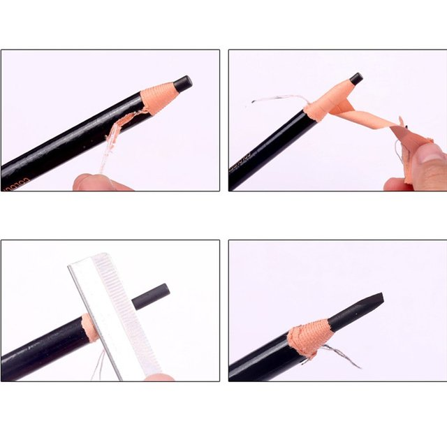5 colors Eyebrow Pencil With Tearing Thread Long-lasting Natural Brow Pencil Cosmetics Brow Eye Liner Make Up Tool 4