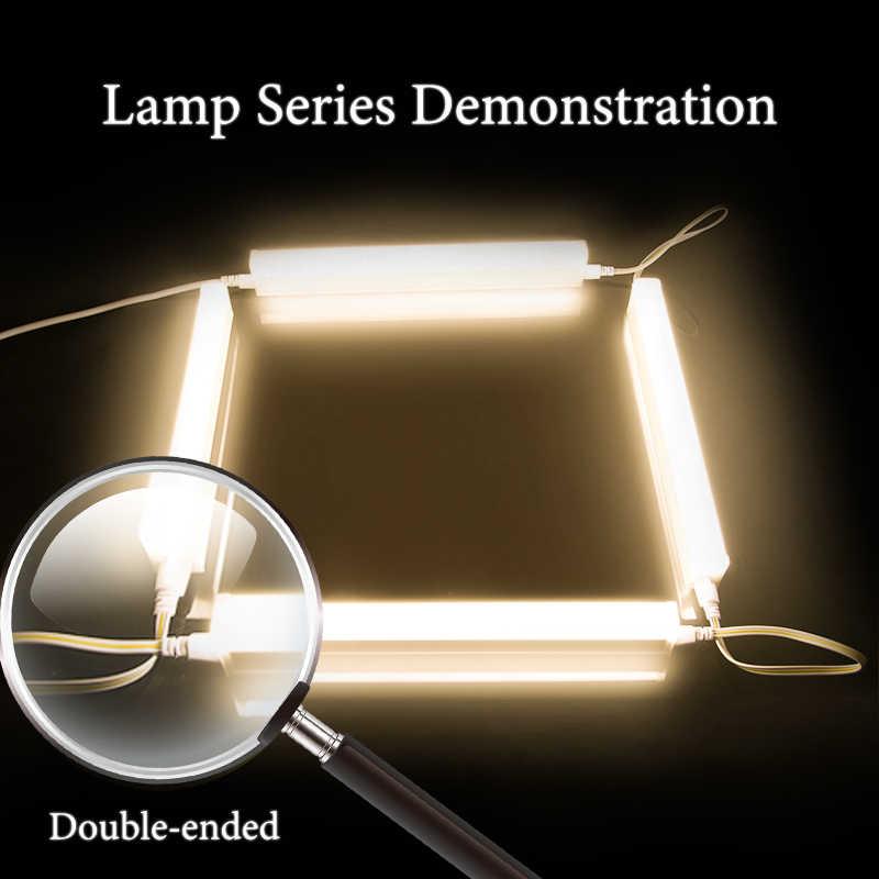 Полный набор T5 T8 светодиодный светильник для кухонного шкафа, шкаф для спальни, ночной Светильник s 30/60 см, светодиодный светильник для бара, Домашний Светильник Cocina датчик движения полосы света светодиода Ручна
