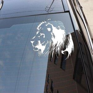 Image 5 - 19.5X20CM מדיטציה האריה ויניל מדבקות לרכב מדבקת אופנוע Individualization רכב סטיילינג S6 2108