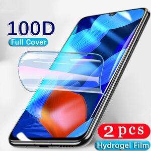 2 sztuk pokrywa dla xiaomi mi 9 se lite 9t cc9 pro cc9e hydrożel film telefon ekran protector folia ochronna nie szkło smartphone HD