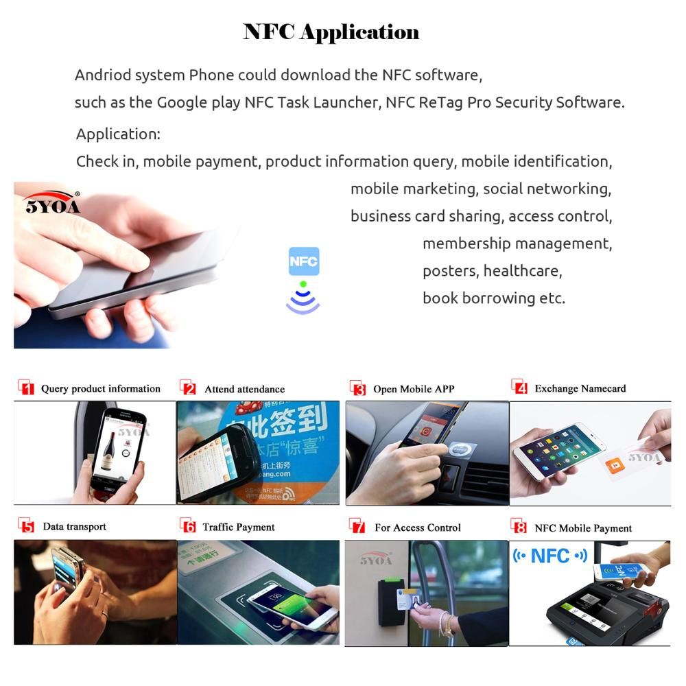 Image 3 - 50pcs NTAG215 NFC Card Tag For TagMo Forum Type2 NFC Tags Ntag 215 Chip 504 byte Read Write Free ShippingAccess Control Cards   -