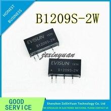 5 adet 10 adet B1209S 2W DC DC Buck güç modülü 12 V 9 V izole güç yongası B1209S 2W