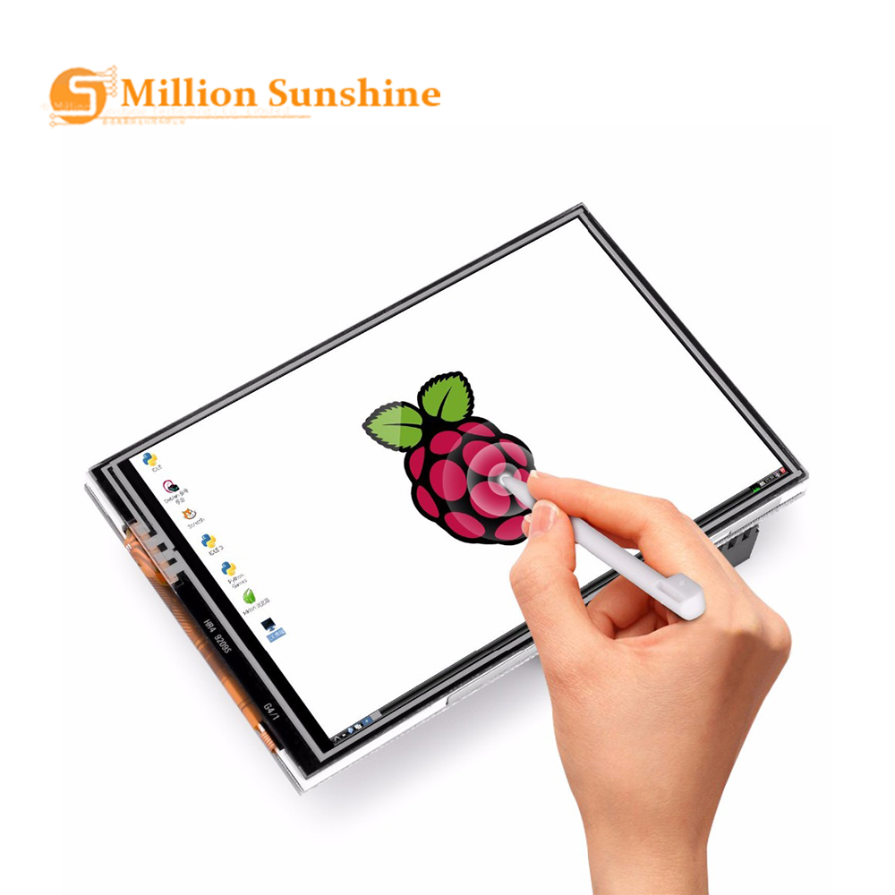 HOT-for Raspberry Pi 3 Model B 3.5 Inches Press Screen Display Monitor 480X320 LCD Kit