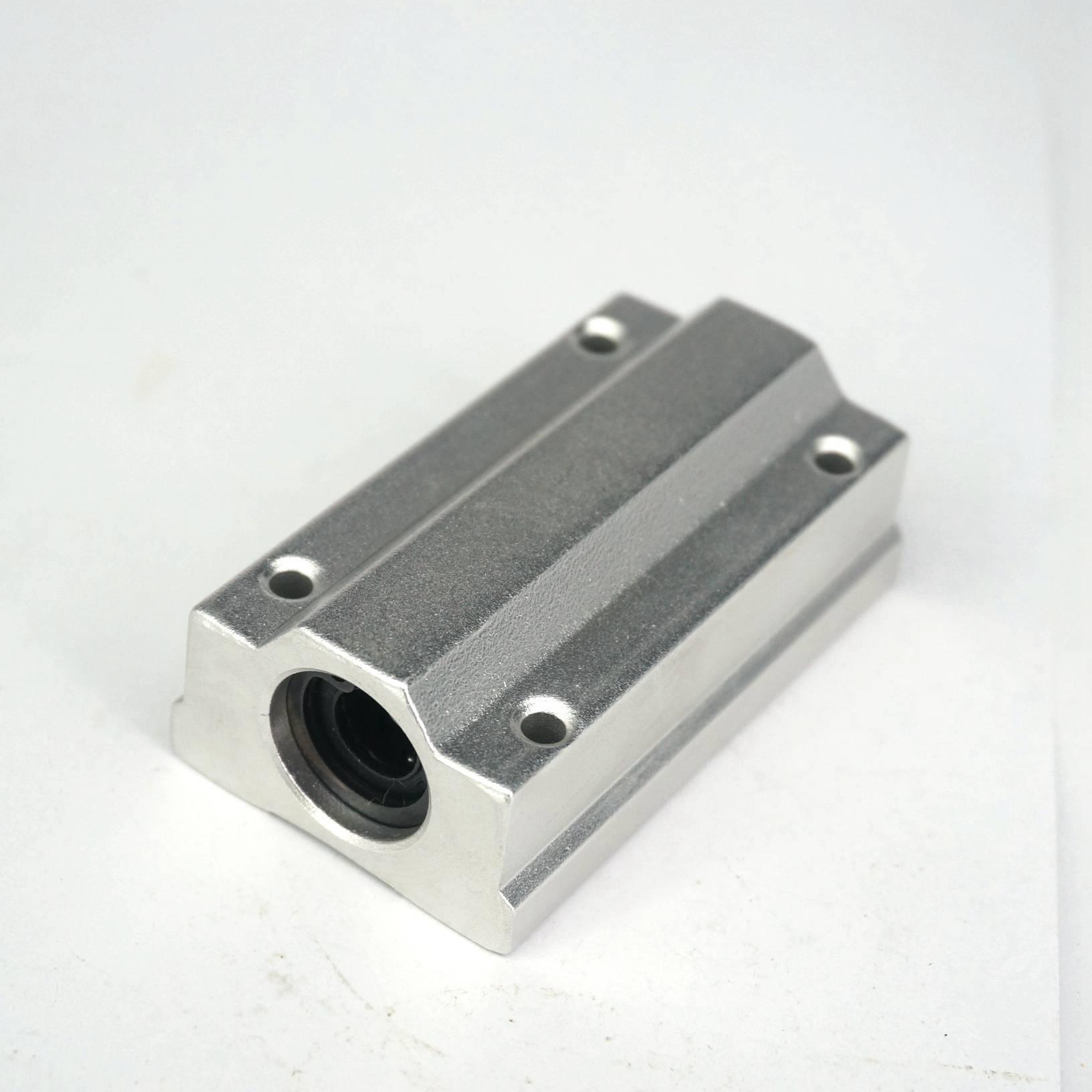 1Pcs SCS13LUU 13mm Aluminum Long Rail Linear Motion Ball Bearing Slide Bushing