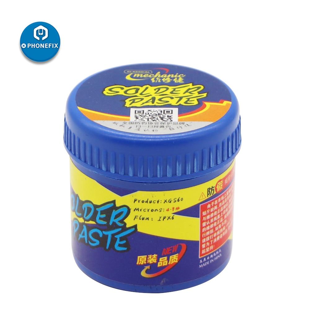 Mechanic XGS60 60g 158 Degree BGA Solder Paste Soldering Tin Cream For Mobile Phone Repair Welding Paste Flux