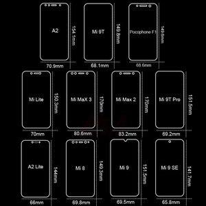 Image 5 - الزجاج المقسى ل شاومي Mi 9 SE الزجاج ل Mi 8 لايت حامي الشاشة على شاومي Mi 9 9T 8 لايت A2 A1 Pocophone F1 ماكس 3 2 الزجاج