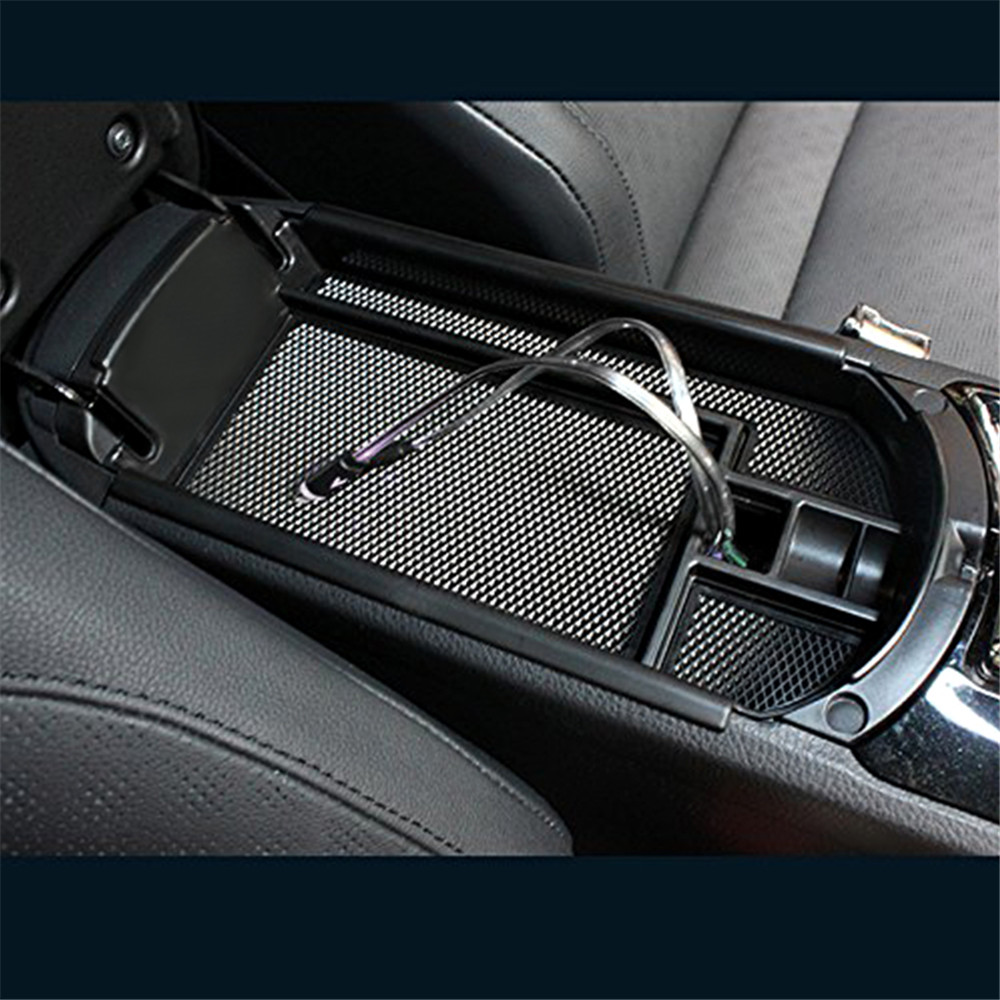 Armrest Storage box Inside Compartment Tray Fit Toyota CHR C-HR 2016 2017 2018