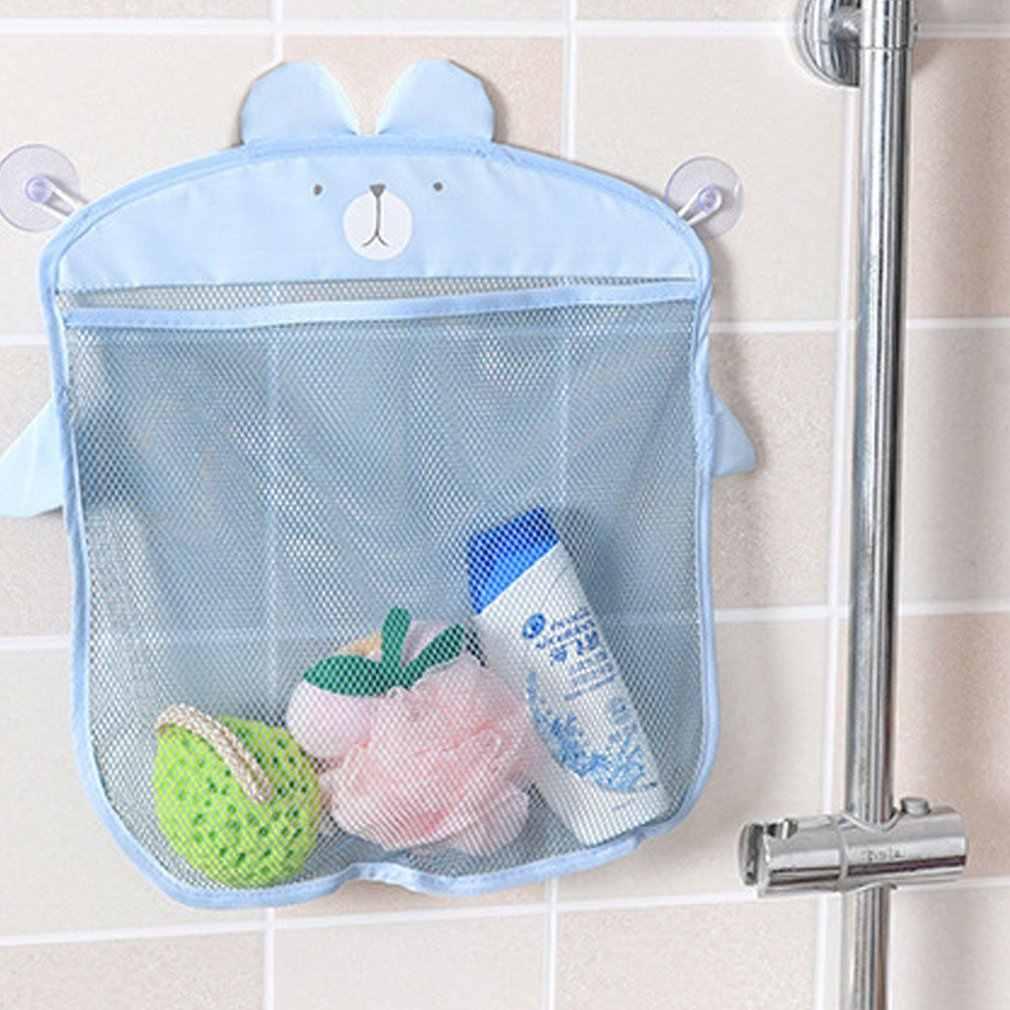 MultiPurposes koreański mody Sucker projekt Cartoon kuchnia łazienka worki siatkowe wodoodporna dla dzieci dla dzieci torba do przechowywania bagażu Drop Shipping