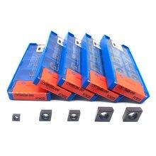挿入オリジナルCCMT060204 CCMT09T304 CCMT09T308 CCMT120404 CCMT120408 内径旋削工具超硬インサートステンレス鋼
