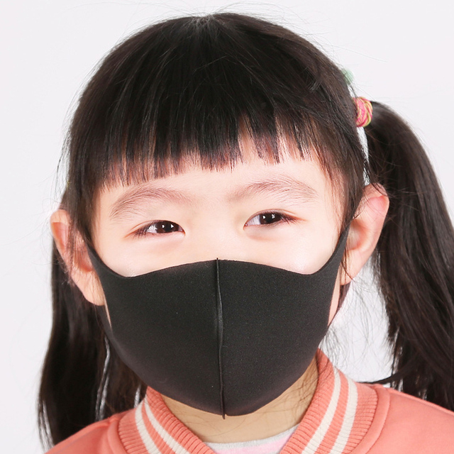 3Pcs/Lot For 2-8 Years Kids Children Mouth Mask Anti Pollution Mask PM2.5 Air Dust Face Masks Washable and Reusable Mouth Cover 5