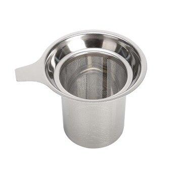 Infuseur à thé réutilisable en acier inoxydable 304 8
