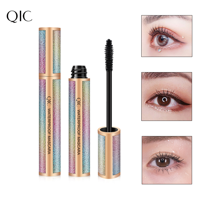 Starry 4d long mascara thick curling waterproof and sweatproof not smudge color makeup