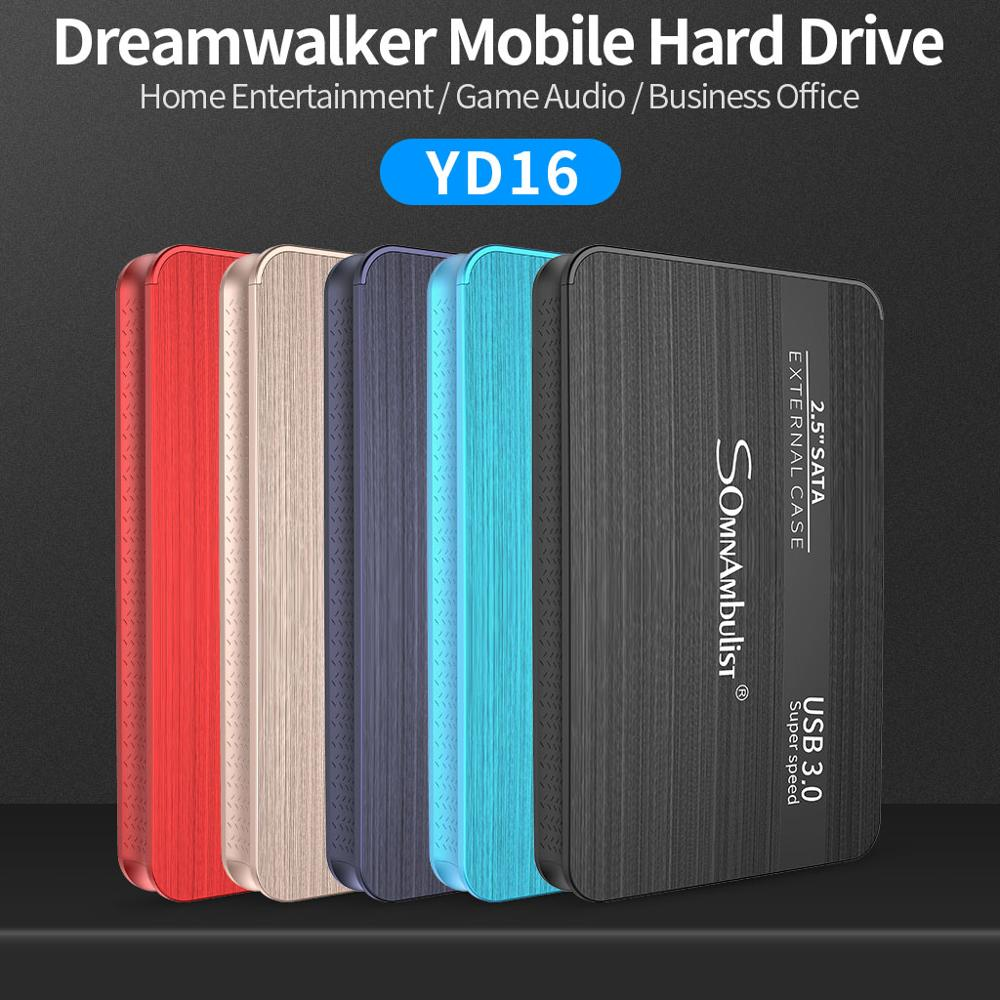 External Hard Drive 2.5 Portable Hard Drive HD Externo 1 TB 2 TB USB3.0 storage, 2