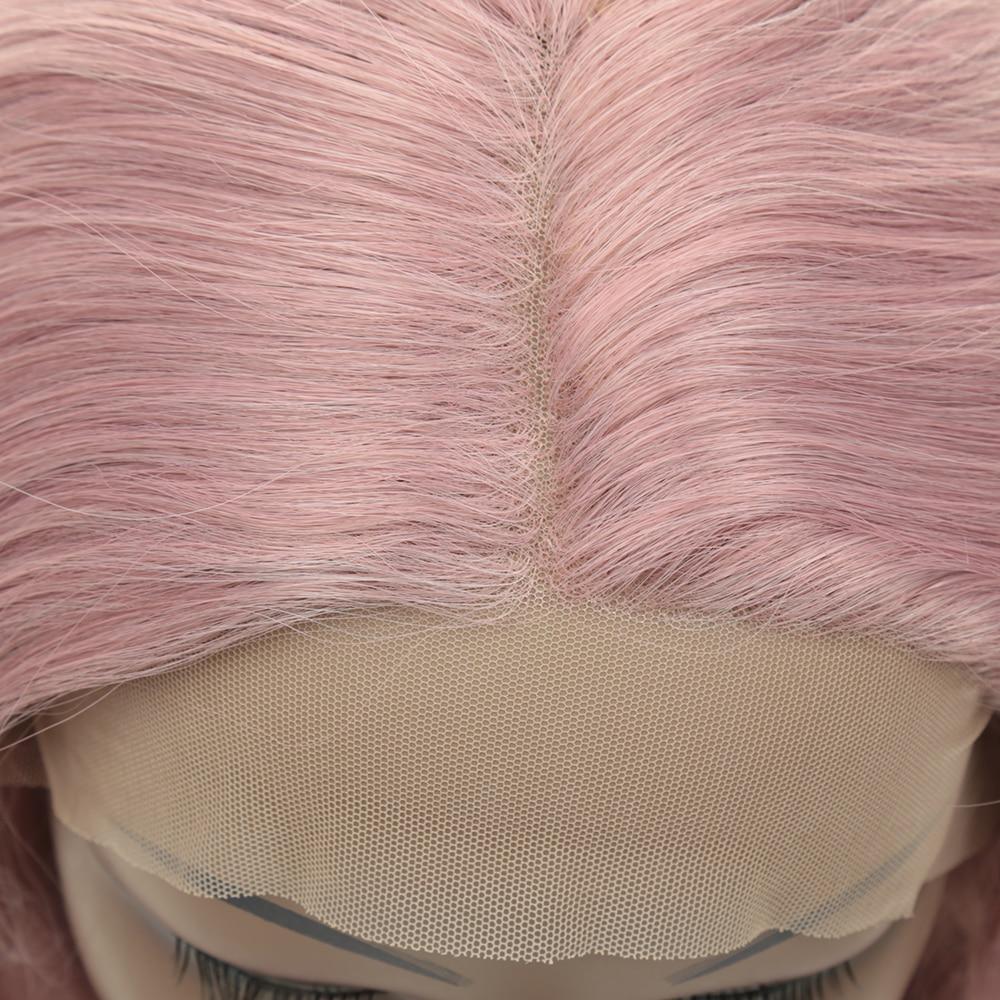 ou branco feminino roxo glueless peruca cosplay