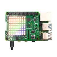 Sombrero con sentido de Raspberry Pi con sensores de orientación, presión, humedad y temperatura Raspberry Pi 3b +/Pi4