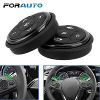FORAUTO-controlador de volante de coche inalámbrico, 10 teclas de música, navegación GPS, botones de Control remoto y Radio, accesorios para coche
