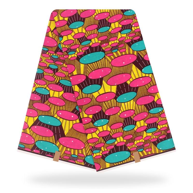 African Wax Print Fabric High Quality Cotton Material Ankara Fabric Sewing Veritable Dutch Real Dutch Wax 6yard For Dress
