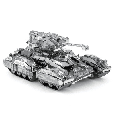 3D Metal Puzzle Famous Product For Scorpion Tank Model Assemble Kits Puzzle Laser Cut Jigsaw Toys For Beginner