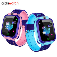 Addis New Kid Smart watch LBS Baby Watch for Children SOS Call Location Finder Locator Tracker Anti Lost Monitor Smart Watches недорого